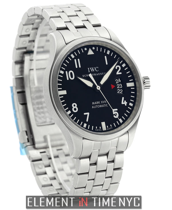 Pilot Mark XVII Stainless Steel Bracelet Black Dial