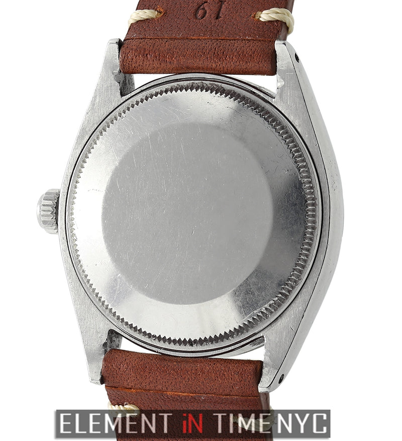 Steel 34mm Silver Underline Dial Original Finish Circa 1958