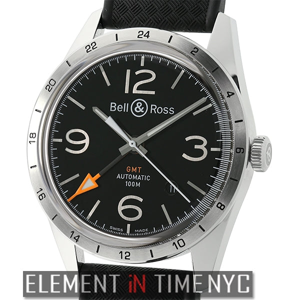 GMT 24H Stainless Steel Black Dial 42mm 2015