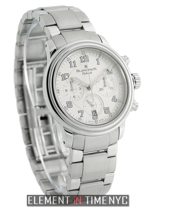 Flyback Chronograph 38mm Stainless Steel Silver Dial