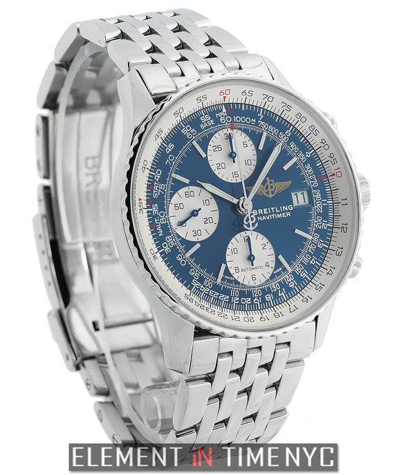 Old Navitimer II Stainless Steel Blue Dial 41mm