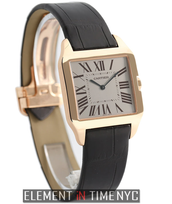 Santos Dumont 18k Rose Gold 35mm Mechanical