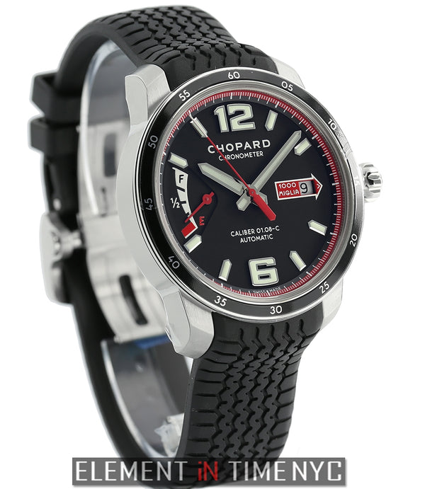 GTS Power Control Stainless Steel 43mm Black Dial