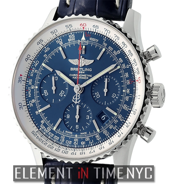 Navitimer 01 Blue Sky 60th Anniversary Ltd. Edition 500 Pieces 2012