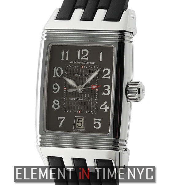 Reverso Gran Sport Stainless Steel Charcoal Dial 28mm