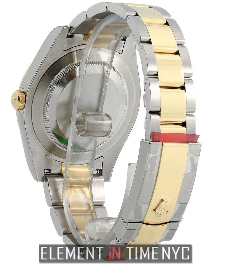 Steel & Yellow Gold Champagne Index Dial 41mm