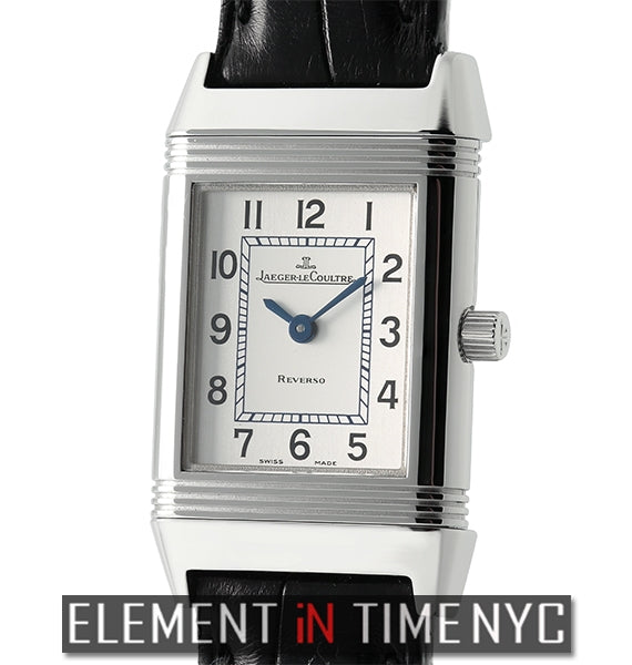 Reverso Lady Quartz Stainless Steel Deployment