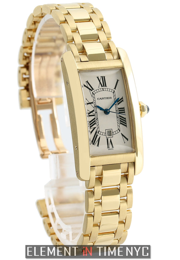 Tank Americaine Midsize 18k Yellow Gold 2014