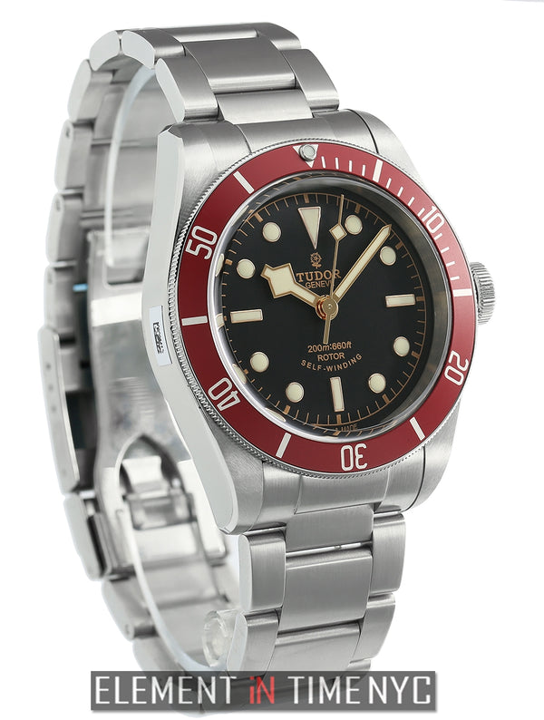 Heritage Black Bay Automatic Black Dial Red Bezel 41mm