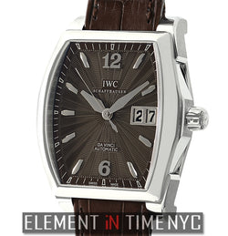 Da Vinci Big Date Small Stainless Steel Brown Dial 36mm