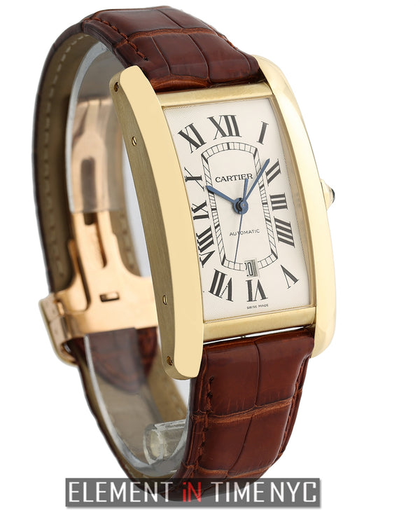 Tank Americaine XL 18k Yellow Gold Automatic