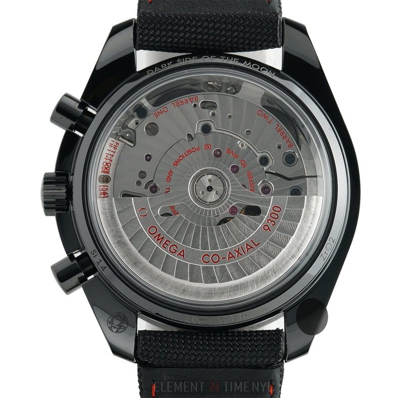 Moonwatch Dark Side Of The Moon 44mm Black Dial 08/2014