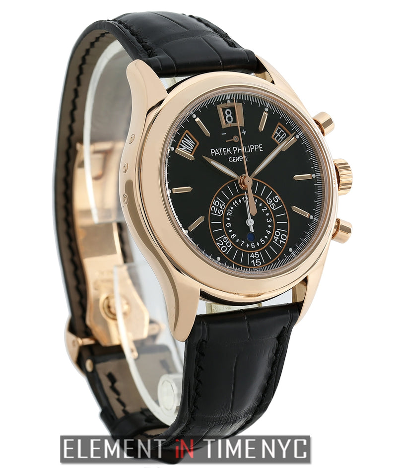 Annual Calendar Chronograph 18k Rose Gold