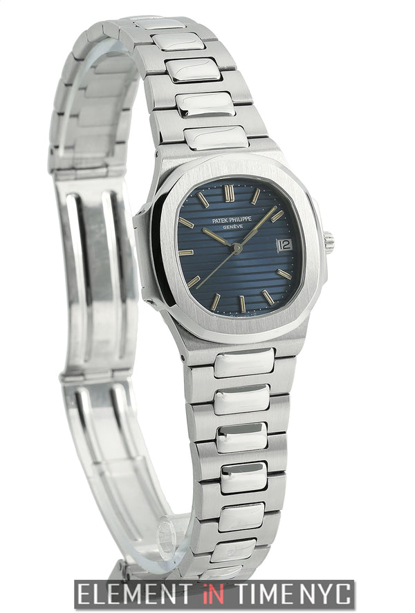 Ladies Stainless Steel 33mm Blue Dial