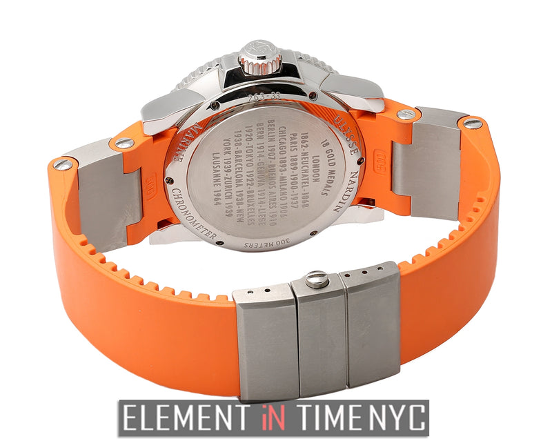 Chronometer 43mm Stainless Steel Orange Dial