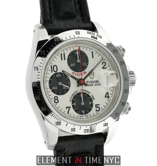 Tiger Woods Edition Chronograph Steel 40m Panda Dial