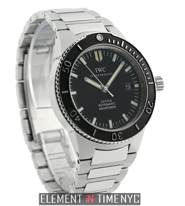 2000 GST Stainless Steel Black Dial