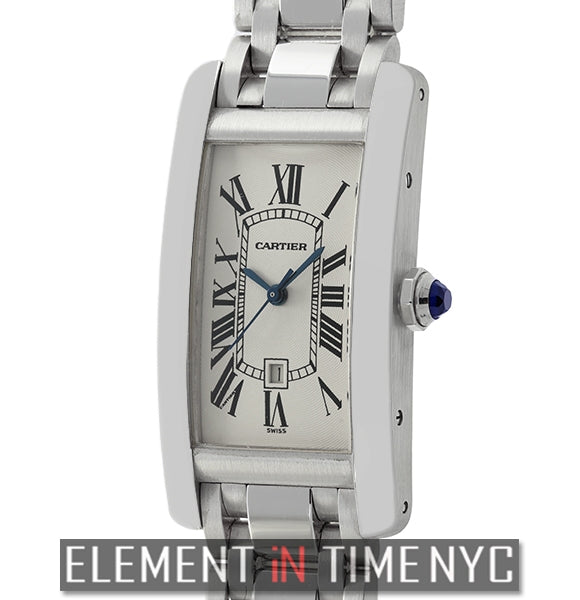 Tank Americaine 18k White Gold Mid-Size 23mm