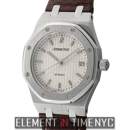 Pictet & Cie Special Edition Steel 36mm Silver Dial 2005