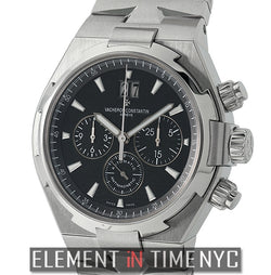 Chronograph 42mm Stainless Steel Black Dial