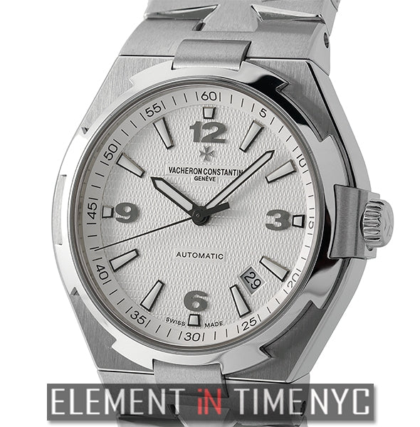 Stainless Steel 42mm Silver Dial Automatic