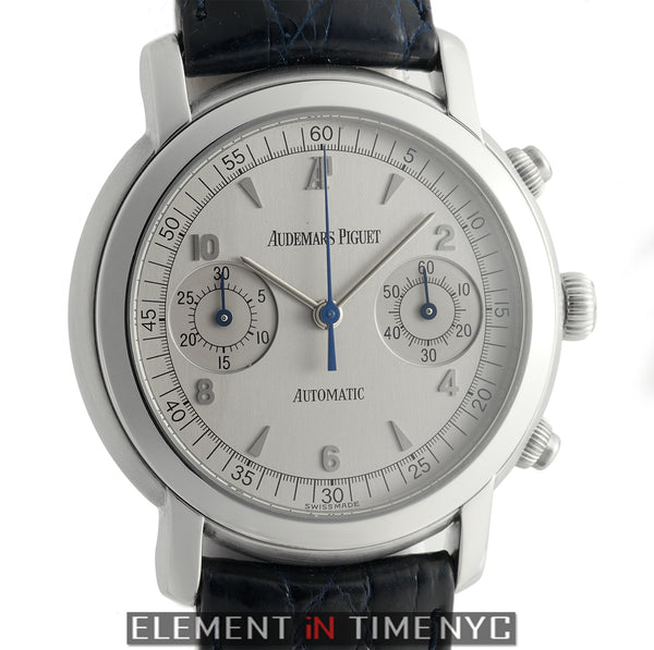 Chronograph Stainless Steel 38mm Silver Dial