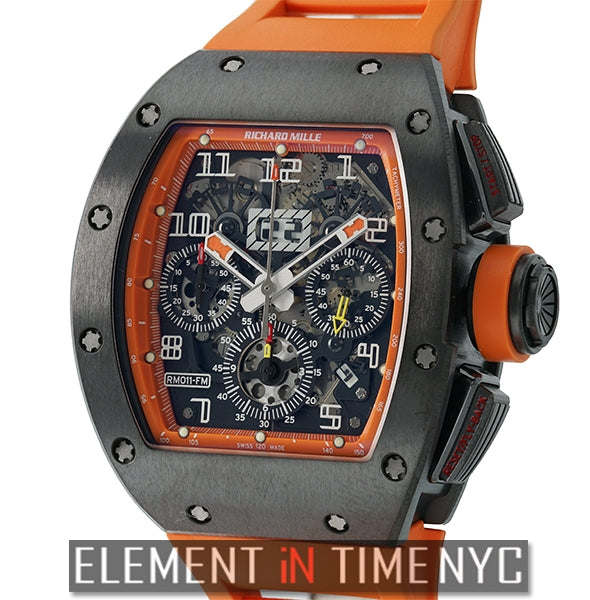 RM11 Felipe Massa Orange Flyback Chrono Limited Edition XX/30
