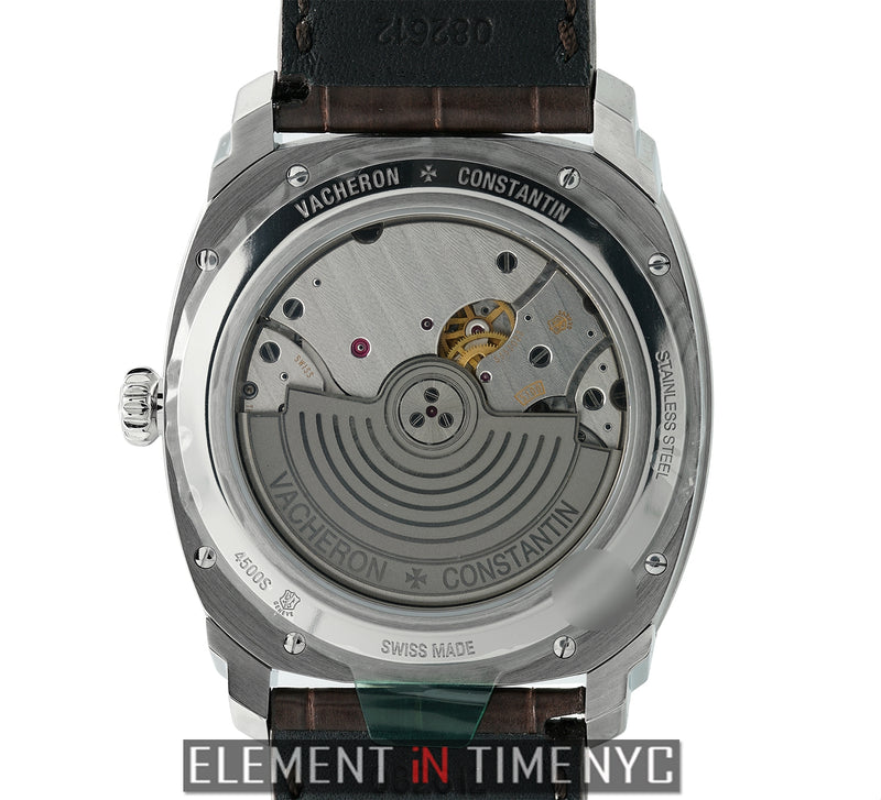 Date Stainless Steel 41mm Silver Dial