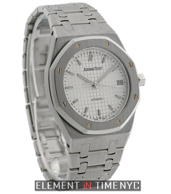 Stainless Steel 36mm White Dial