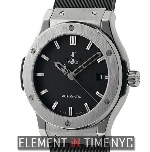 Titanium 45mm Black Dial Automatic