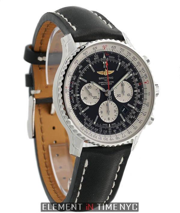 Navitimer 01 46mm Stainless Steel Black Dial