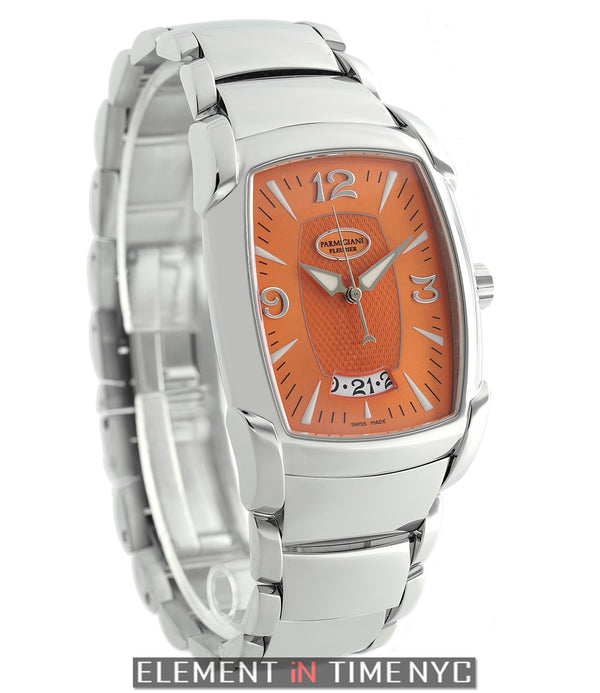 Kalpa Grande Stainless Steel Orange Dial 34mm Limited Edition