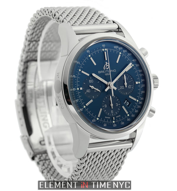 Chronograph 43mm Steel Blue Dial Limited Edition 2013