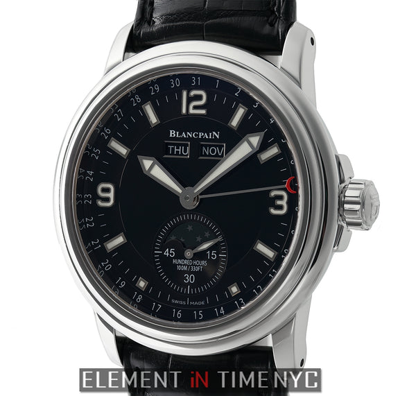 Moonphase & Complete Calendar 40mm Black Dial