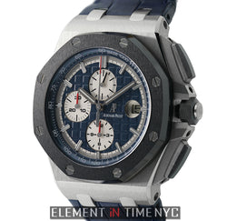 Chronograph Platinum 44mm Ceramic Bezel Blue Dial