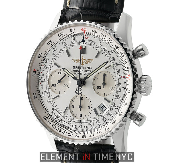 Stainless Steel Chronograph Silver Dial 42mm 2004