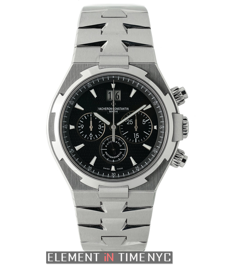 Chronograph 42mm Stainless Steel Black Dial 2015