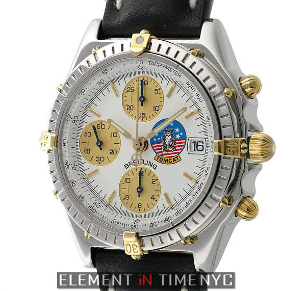 Steel & 18k Yellow Gold White Dial Tomcat Limited Series XXX/250