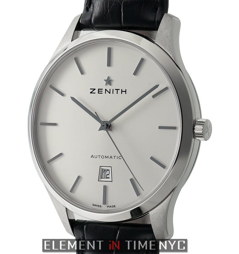 Captain Central Second Stainless Steel 40mm Silver Dial