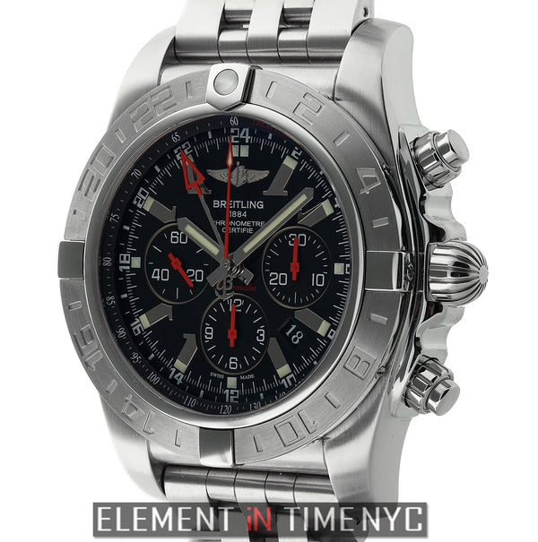 Chronograph GMT Black Dial Stainless Steel Limited Ed 2012