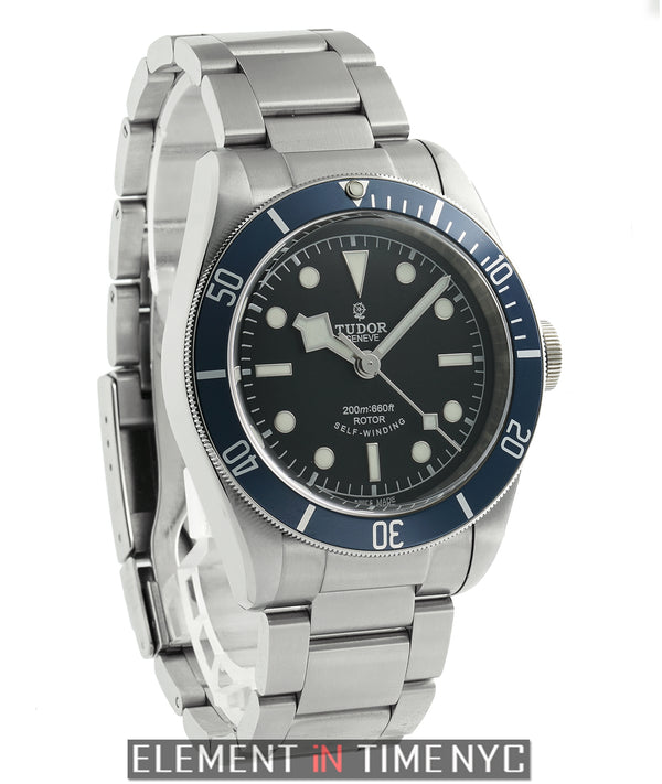 Heritage Black Bay Steel 41mm Black Dial Blue Bezel 2015