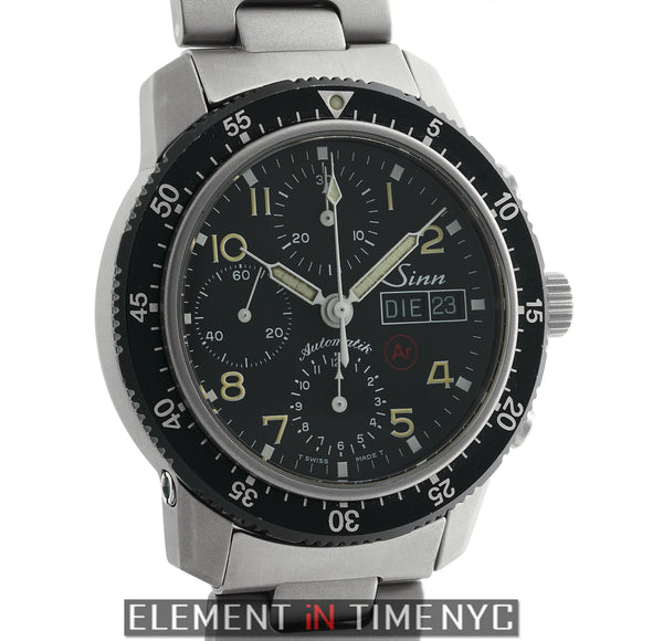 Chronograph Titanium 41mm Black Dial Automatic