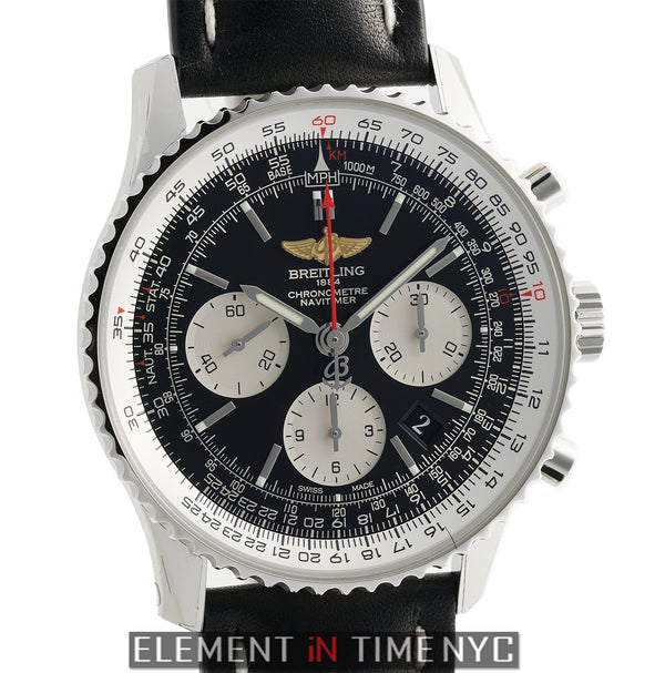 Navitimer 01 Chronograph Stainless Steel 43mm Black Dial