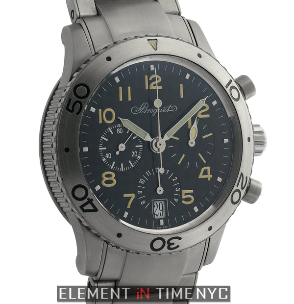 Type XX Transatlantique Chronograph 39mm Titanium