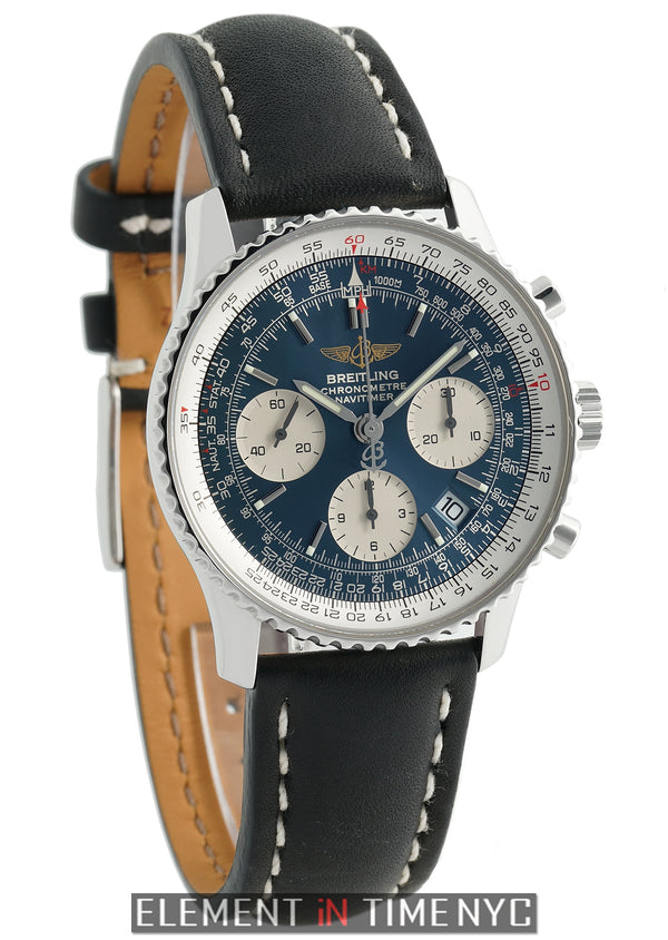 Chronograph  Stainless Steel 42mm Blue Dial 2011