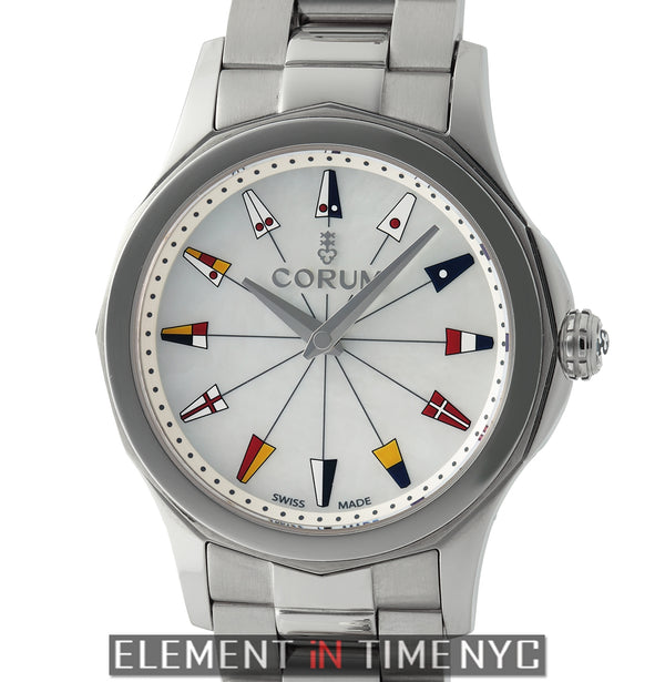 Legend 32 Stainless Steel White Dial