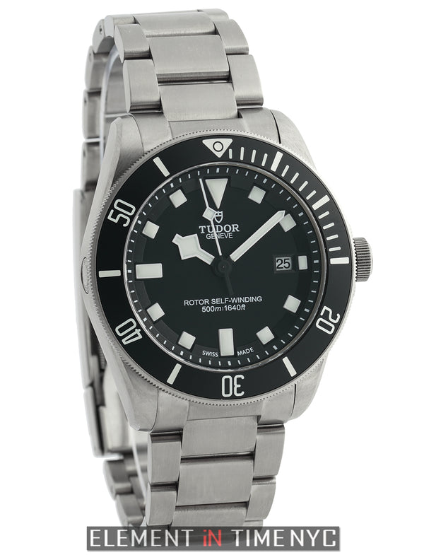 Pelagos Titanium 42mm Black Dial