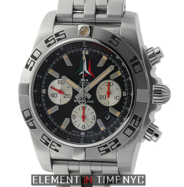 44 Flecce Tricolori LTD ED Stainless Steel Black Dial