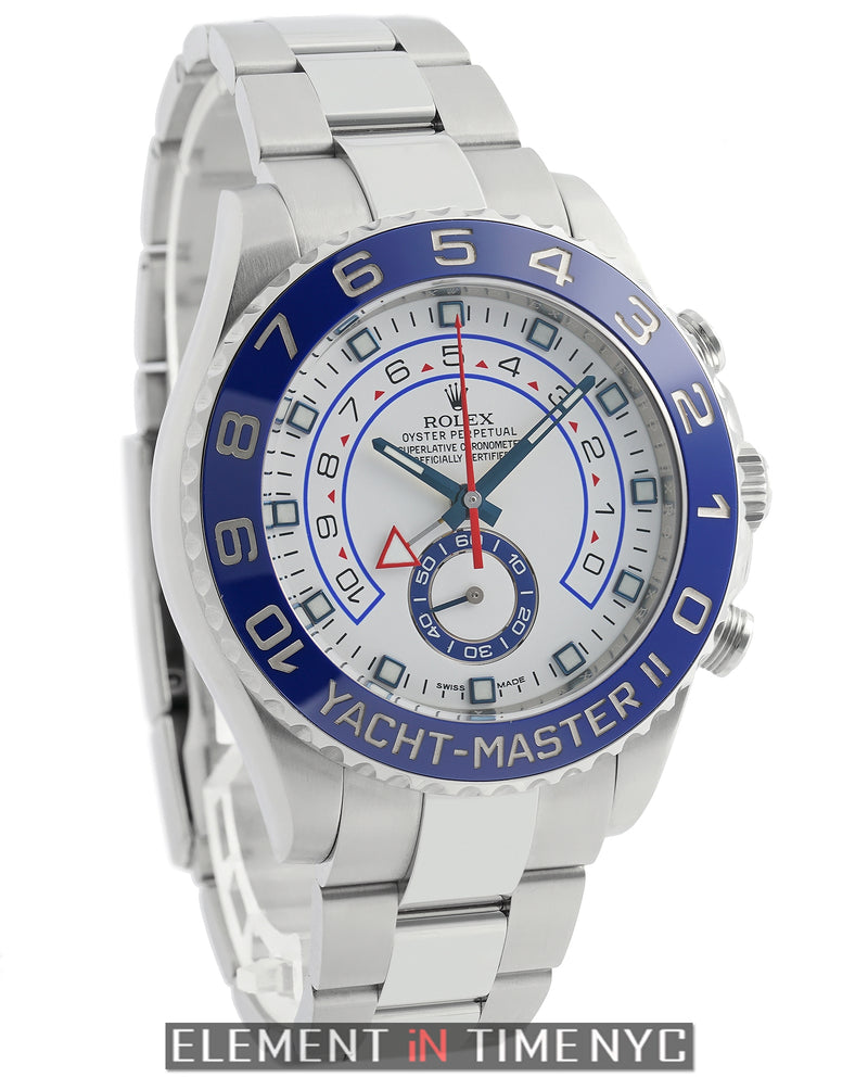 Stainless Steel 44mm Blue Ceramic Bezel
