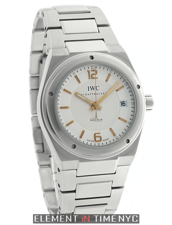 Stainless Steel 40mm Silver Dial Automatic